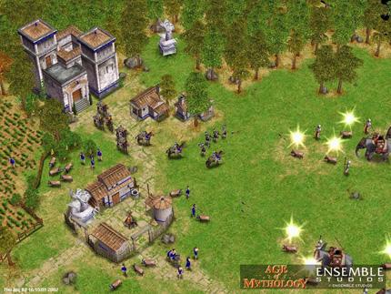 Screenshot af Age of Mythology