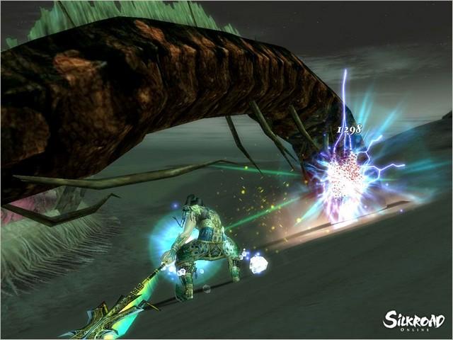 Screenshot af SilkRoad Online