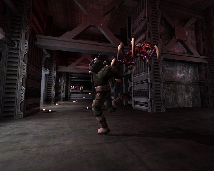 Screenshot af Tremulous