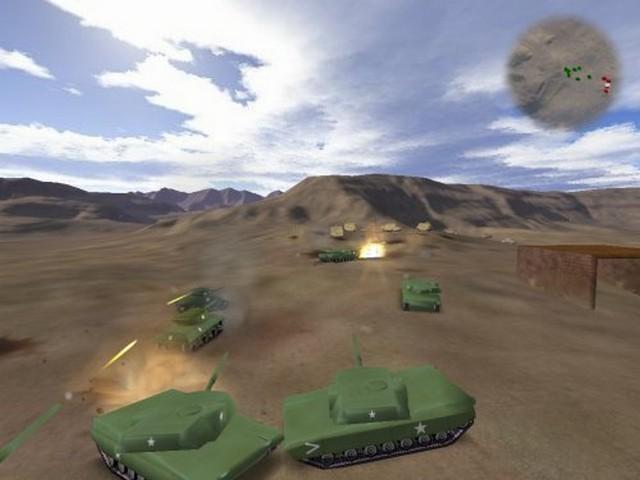 Screenshot af BattleTanks