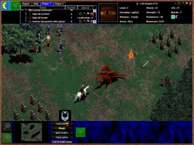 Screenshot af Fantasy Battlefields