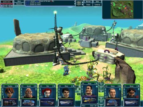 Screenshot af UFO: Afterlight