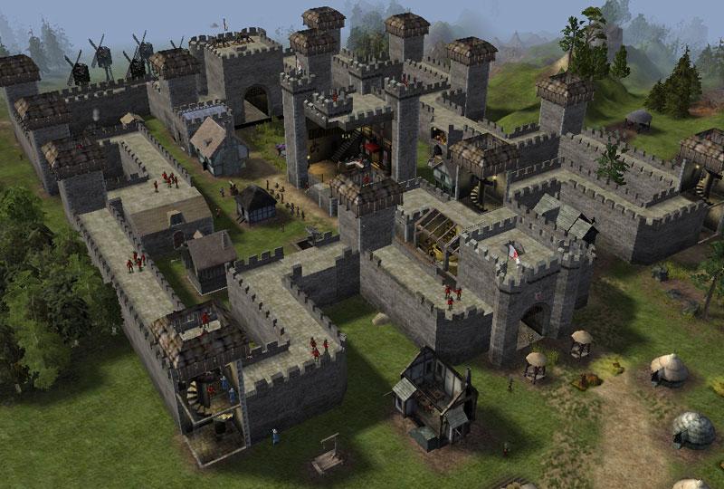 Screenshot af  Stronghold