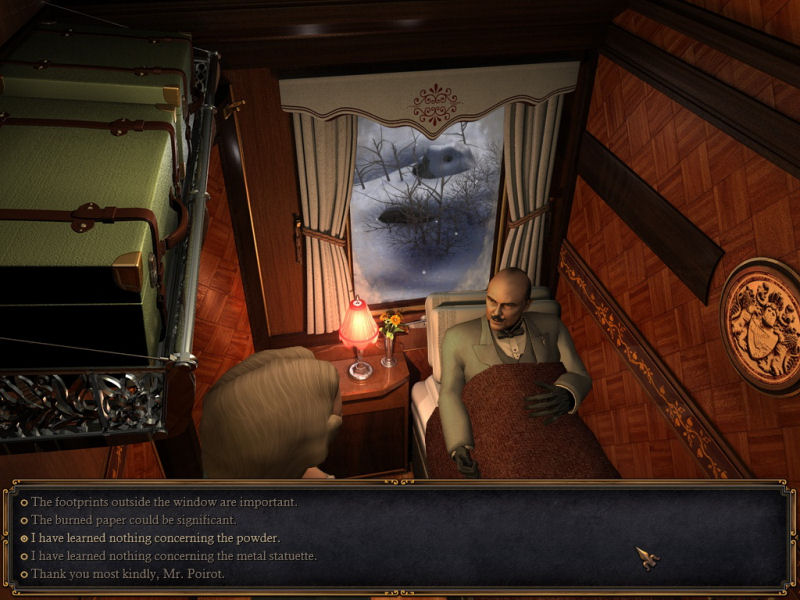 Screenshot af Murder On The Orient Express