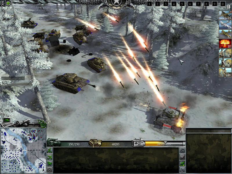 Screenshot af War Front Turning Point