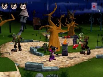 Screenshot af Dracula-tvillingerne