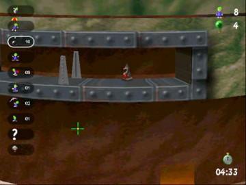 Screenshot af Lemmings Revolution
