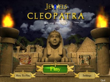 Screenshot af Jewels Of Cleopatra