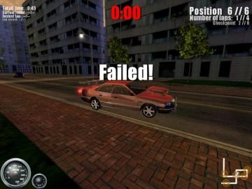 Screenshot af Shanghai Street Racer