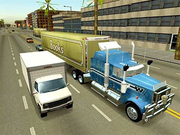 Screenshot af 18 Wheels of Steel - Across America