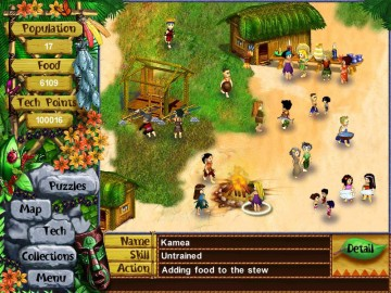 Screenshot af Virtual Villagers - The Lost Children