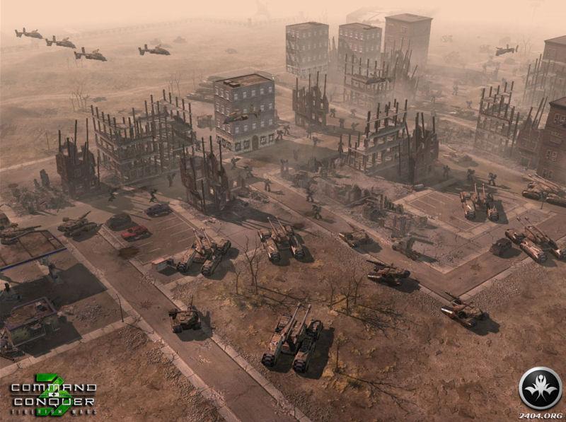 Screenshot af Command & Conquer 3 - Tiberium Wars