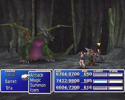 Screenshot af Final Fantasy