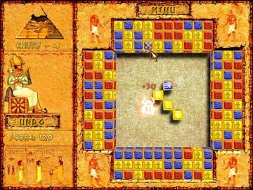Screenshot af Brickshooter Egypt