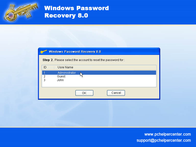 Screenshot af Windows_ Password_ Recovery