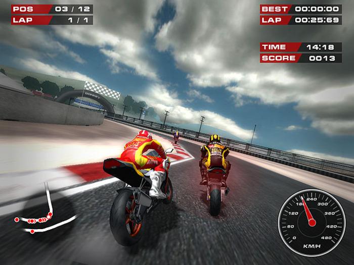 Screenshot af Superbike Racers