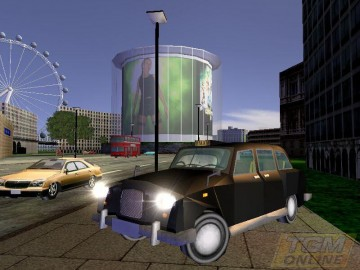 Screenshot af Taxi Racer London 2