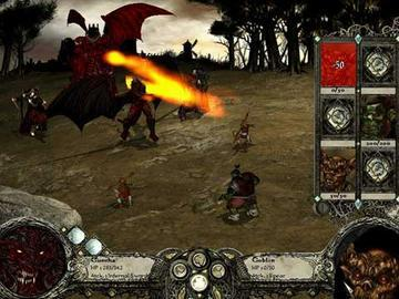 Screenshot af Disciples II - Gallean\'s Return