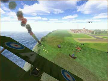 Screenshot af Red Ace Squadron