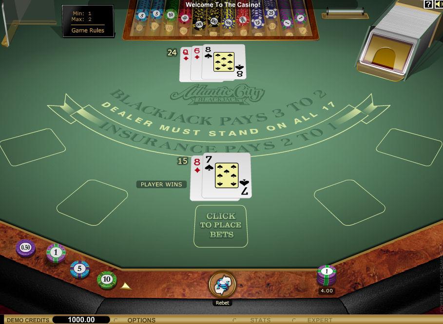 Screenshot af Atlantic City Gold BlackJack