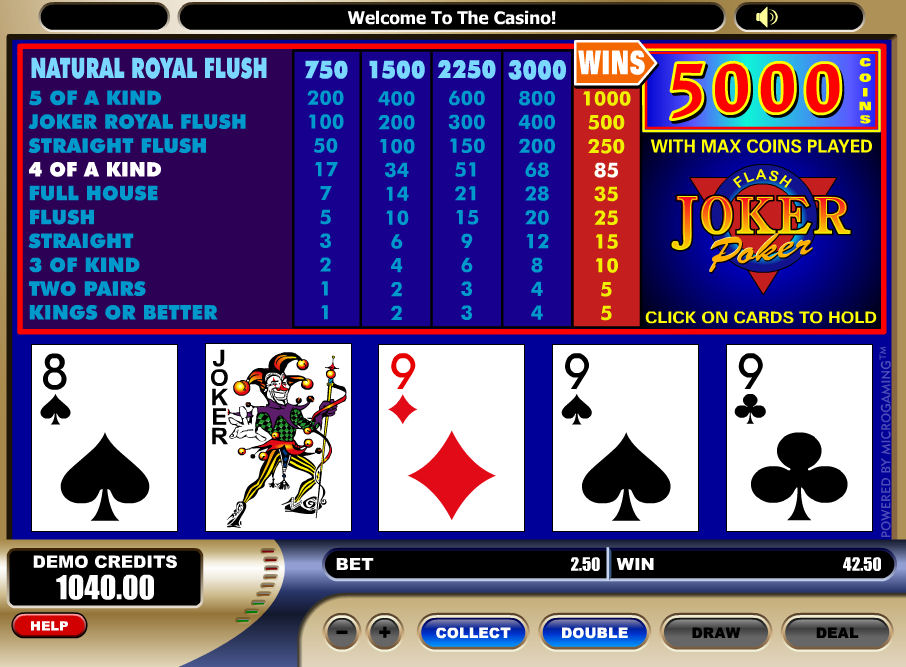 Screenshot af Joker Poker