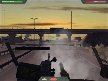 Screenshot af Desert Gunner Baghdad Central
