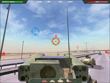 Screenshot af Desert Gunner Baghdad Central