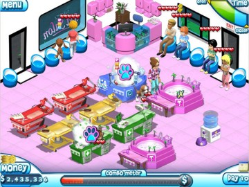 Screenshot af Paradise Pet Salon
