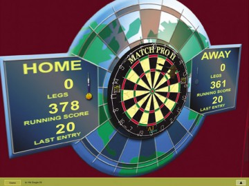 Screenshot af Friday Night 3D Darts
