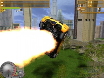 Screenshot af Taxi Racer New York 2