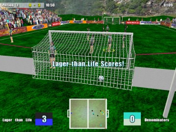 Screenshot af Five-a-Side Football