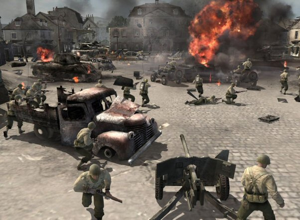 Screenshot af Company of Heroes