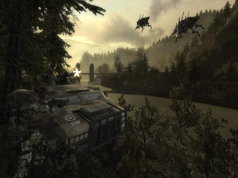 Screenshot af Enemy Territory: Quake Wars