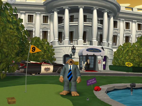 Screenshot af Sam & Max - Abe Lincoln Must Die