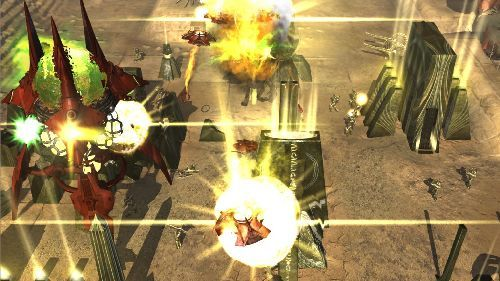 Screenshot af Universe at War: Earth Assault