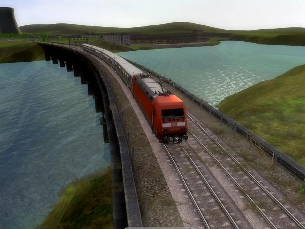 Screenshot af Rail Simulator