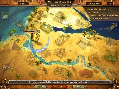 Screenshot af Amazing Adventures