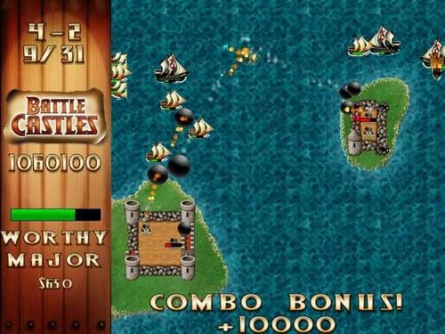 Screenshot af Battle Castles