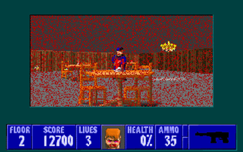 Screenshot af Wolfenstein 3D