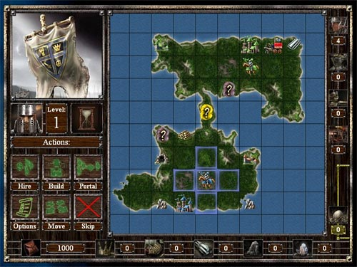 Screenshot af Empires and Dungeons