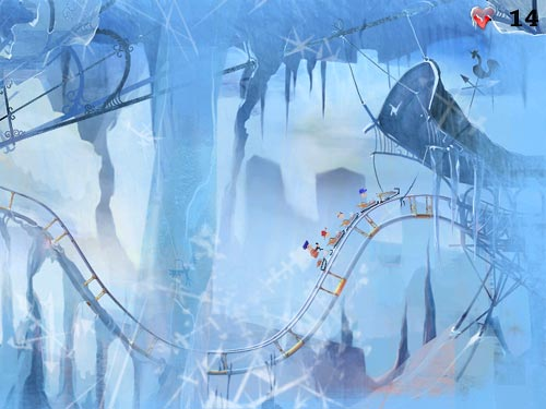 Screenshot af Fantasy Roller Coaster