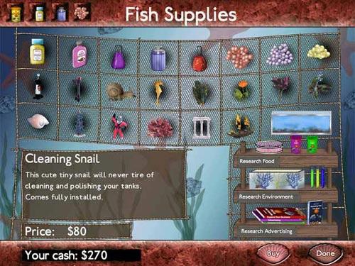 Screenshot af Fish Tycoon