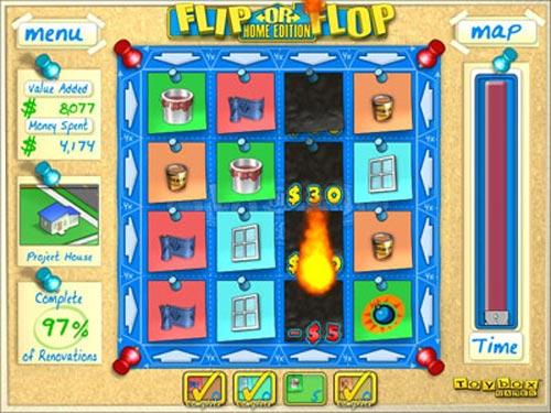 Screenshot af Flip or Flop