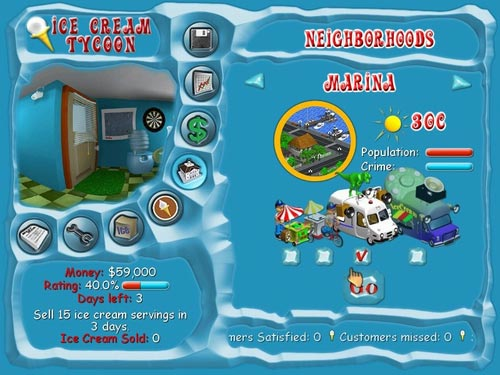 Screenshot af Ice Cream Tycoon