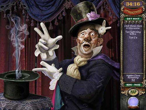 Screenshot af Mystery Case Files: Madame Fate