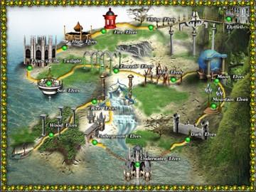Screenshot af Elythril: The Elf Treasure