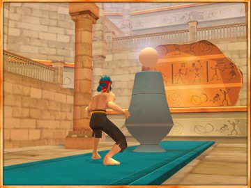 Screenshot af Billy Blade: The Temple of Time