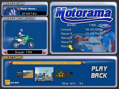 Screenshot af Motorama
