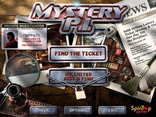 Screenshot af Mystery PI