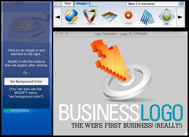 Screenshot af The Logo Creator